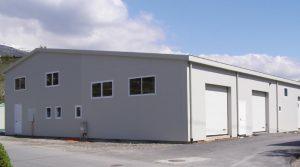Container Ufficio Usati A Lecce : Prefabbricati lamiera zincata o coibentati box auto ricovero