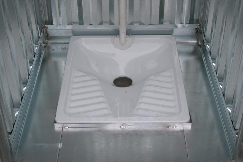 Bagno Turco Wc.Servizi Igienici Prefabbricati In Lamiera Zincata Da Esterno