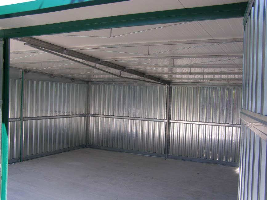 Box auto in lamiera zincata
