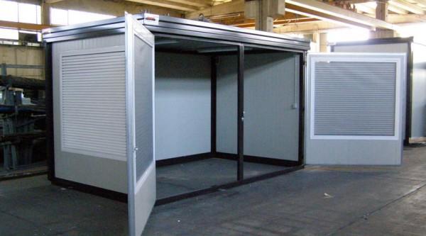 Prefabbricati speciali e shelter per laboratori analisi - Prefabbricati da giardino ...