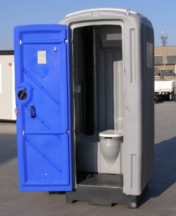 Servizi igienici prefabbricati di tipo chimico da esterno - Bagno chimico cantiere ...