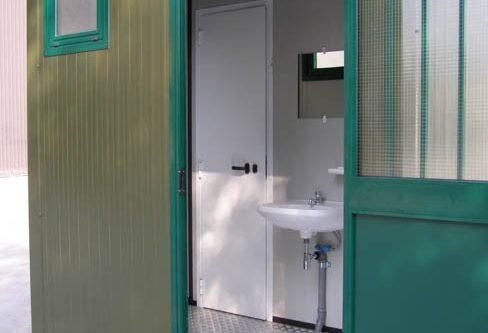 Servizi igienici coibentati
