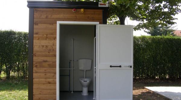 Servizi igienici prefabbricati coibentati da esterno - Prezzo bagno prefabbricato ...