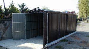 X003-Box in lamiera zincata