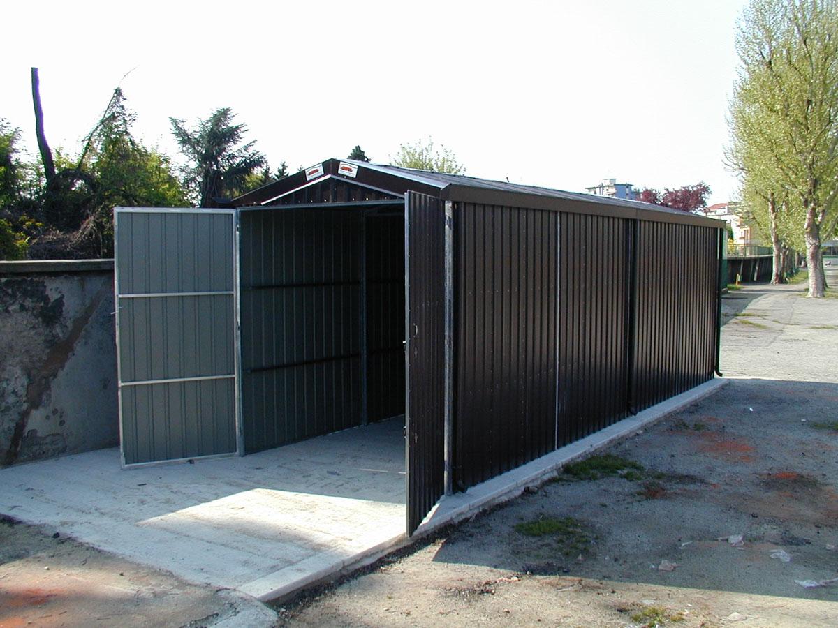 Box In Lamiera Zincata Sapil